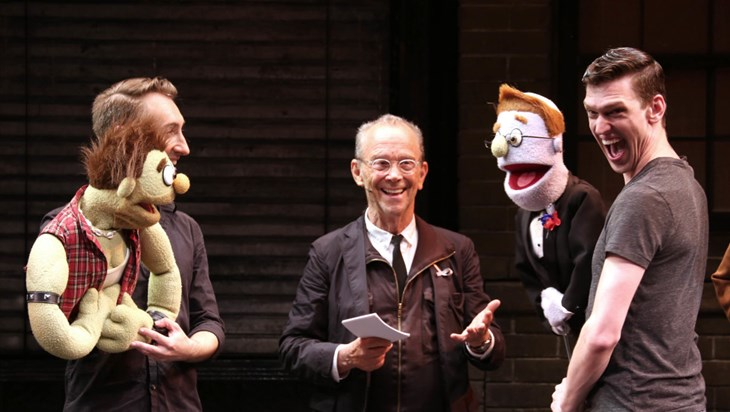 Rod and Ricky of Avenue Q Renew Their Vows