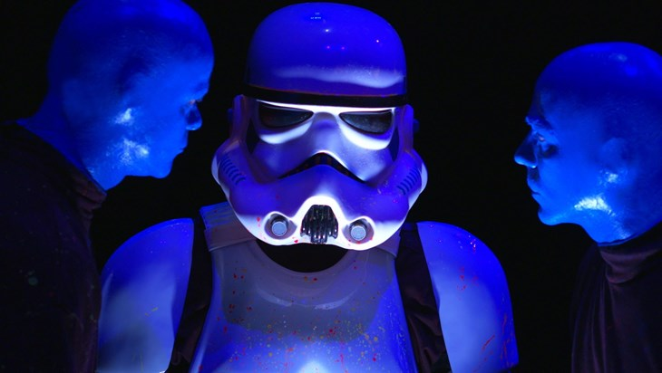 Video: A Stormtrooper Auditions for Blue Man Group