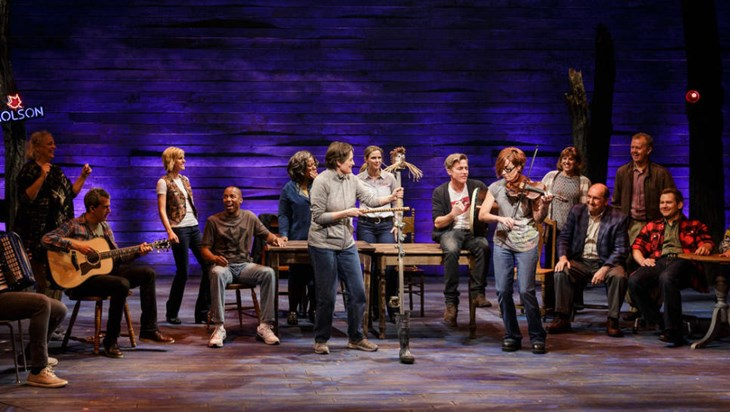 9/11 Musical Come From Away Books a Broadway Theatre