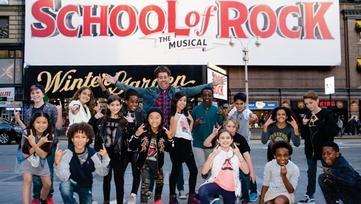School of Rock Promotes a New Class of Leads