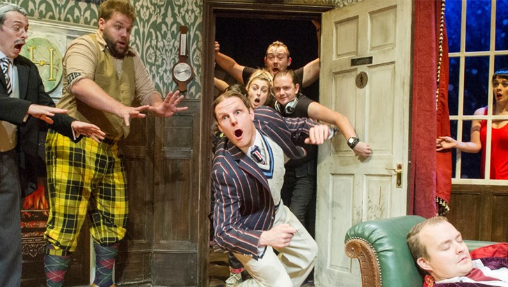 Video: The Play That Goes Wrong Celebrates Their Tony Nomination