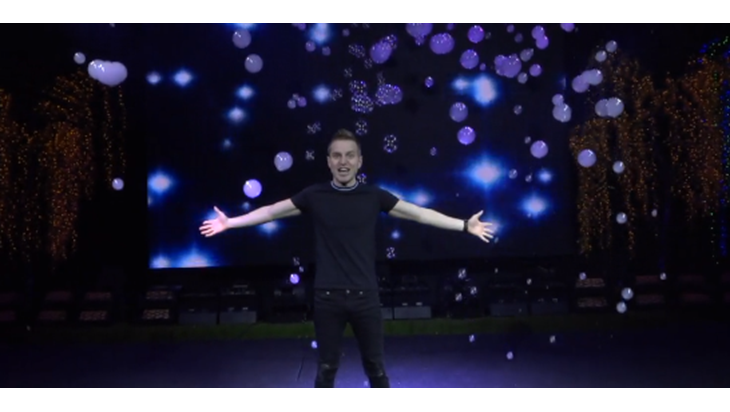 Go Behind the Scenes of The Gazillion Bubble Show With Tyler Mount