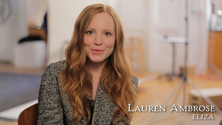 Video: Lauren Ambrose Invites You to See My Fair Lady
