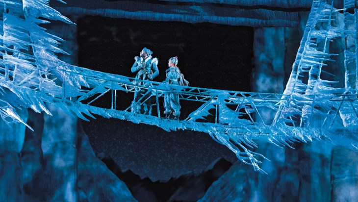 How Frozen Reimagines Its Icy World for the Broadway Stage