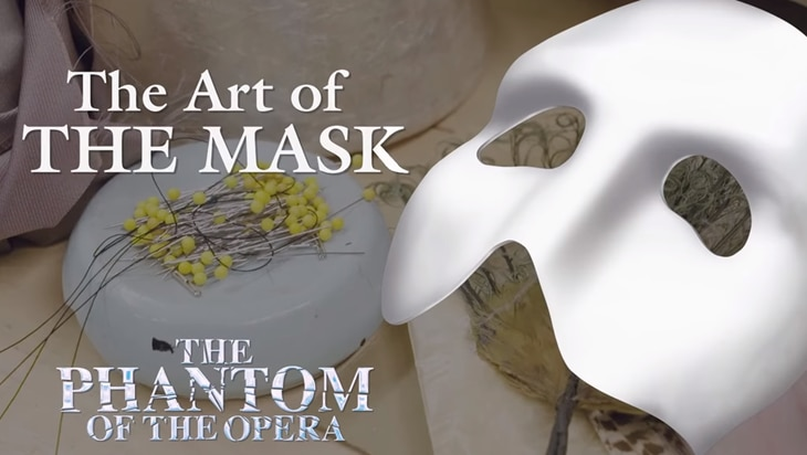 Video: The Phantom of the Opera: Making the Mask