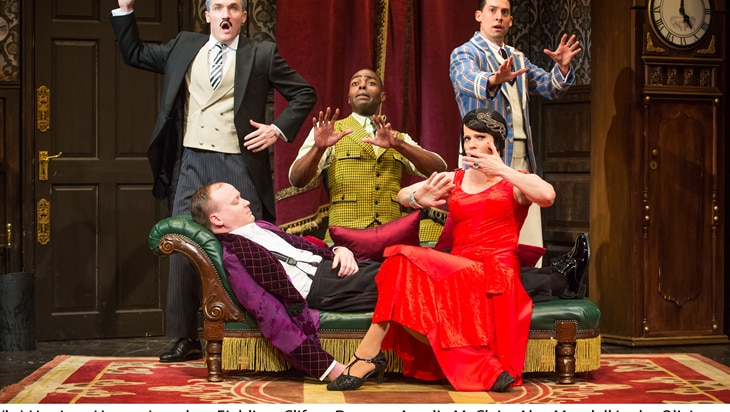Crisis Averted! The Play That Goes Wrong Extends Its Run