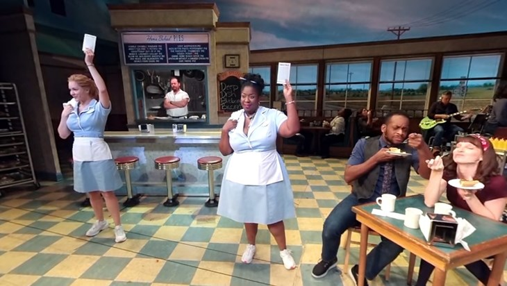 Video: Join Katharine McPhee On The Stage Of Waitress
