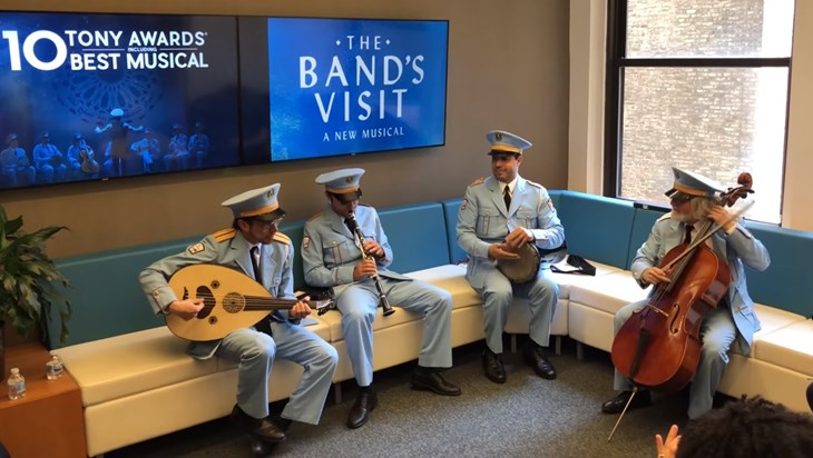 Video: A Private Performance From The Band's Visit