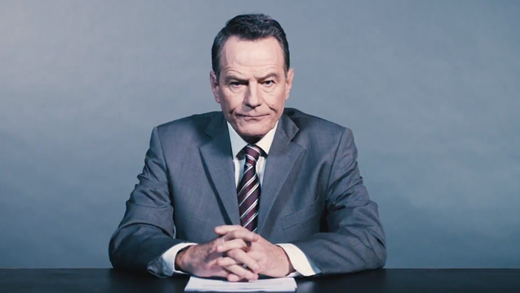 Video: Get A Glimpse Of Bryan Cranston's Electric Performance In Network