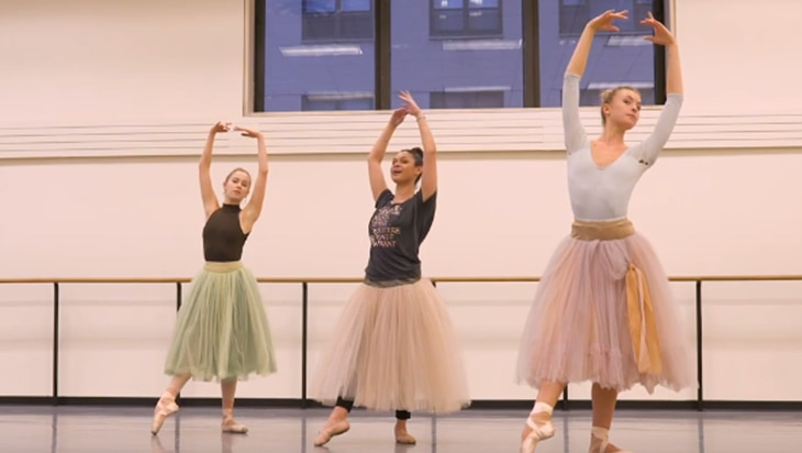 Video: Dancing George Balanchine's The Nutcracker with NYCB