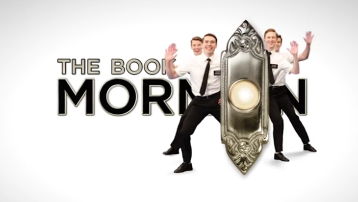 Video: The Book of Mormon on Broadway