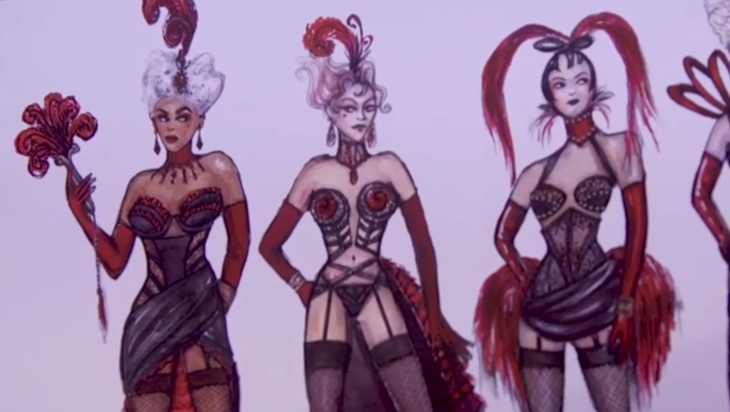 Video: Behind Moulin Rouge! The Musical's Lavish Costume Designs On Broadway