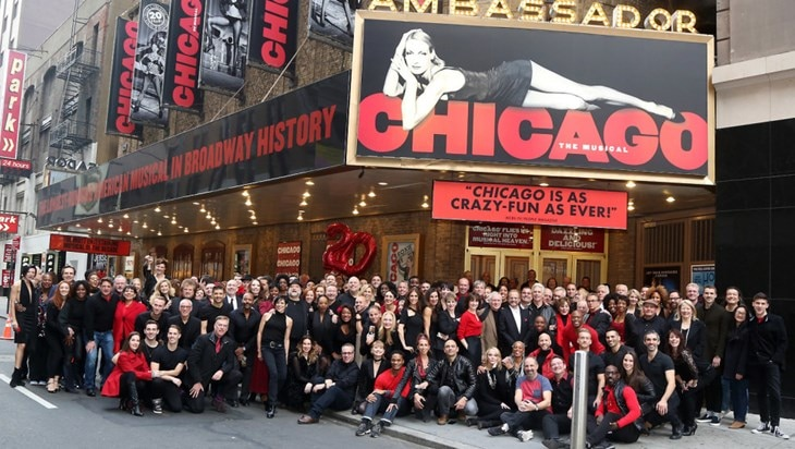 Chicago Celebrates 20 Years on Broadway
