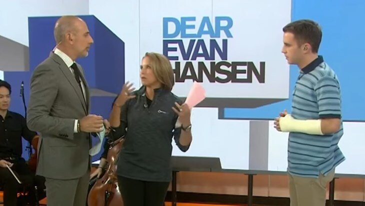 Video: Ben Platt Sings Dear Evan Hansen on TODAY