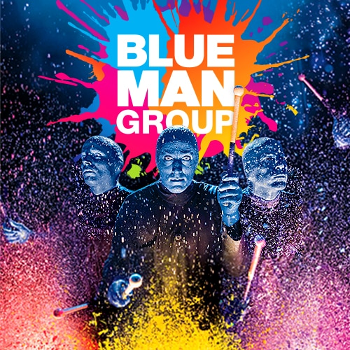Blue Man Group NYC Off Broadway Show Tickets Group Sales