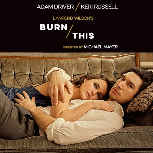 Burn This Play Adam Driver Broadway Show Group Sales Tickets