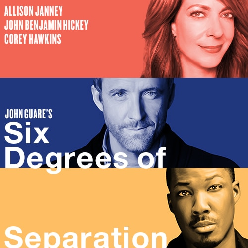 Six Degrees of Separation Play Allison Janney Broadway Show Tickets