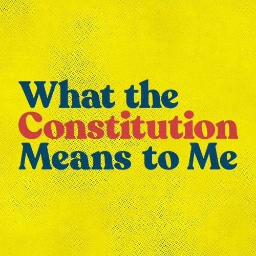 What the Constitution Means to Me Broadway Show Group Sales  Tickets